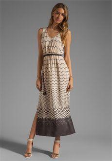 Akiko Print Maxi Dress