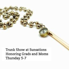 Our Founder is heading to the sweet mountain town of Jasper GA this Thursday. @sunsations.tan.and.boutique. Join us for a special TRUNK SHOW honoring Graduates and Moms. #trunkshow #wesupportlocalretailers #sunsationstanningandboutique #JasperGA #SS16 #graduation #senior #campussafety #GraduationGift #Graduates #Journey #GraduationCollection #MothersDayGift #Mom #GivetheGiftofSafety #whistle #brass #compass #BLO #blovintage #blovintagejewelry #vintage #vintagejewelry #CF…