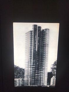 "02686cfa480b53 Mies Van Der Rohe ""Glass Skyscraper Project"" Modern Architecture 35mm Art  Slide"