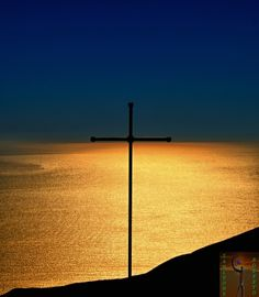 Cross at sunset by Roberto Zanleone on 500px