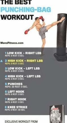 Boxing Workout With Bag, Boxing Workout Routine, Punching Bag Workout, Boxing Training Workout, Heavy Bag Workout, Mma Workout, Boxing Gym, Gym Workout Tips, Boxing At Home
