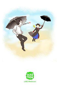 Hehehehe Hanny (if that's his name): Mary Poppins, long time no see Super Secret Webtoon, Webtoon App, The Boy Next Door, Webtoon Comics, Manga Comics, Comic Strips, Manhwa, Manga Anime, Chibi