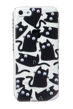 Skinnydip London Cat iPhone 5 Case http://www.skinnydiplondon.com/collections/phone/products/iphone-5-5s-cat-case