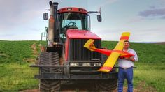 Agriculture the most promising market for drones.