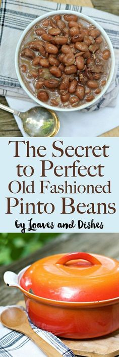 Recipes included for Perfect Pintos in the crockpot slow cooker, pressure cooker and on the stove top for perfect Southern Pinto beans every time. Just because they are easy doesn't mean they aren't delicious. (cook chicken in crockpot veggies) Crockpot Recipes, Cooking Recipes, Healthy Recipes, Meal Recipes, Casserole Recipes, Vegetarian Recipes, Shrimp Recipes, Recipes Dinner, Lunch Recipes