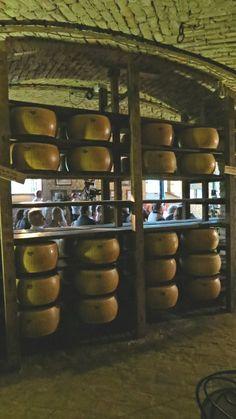 Parmigiano Reggiano all'Antica Corte Pallavicina di Polesine Parmense