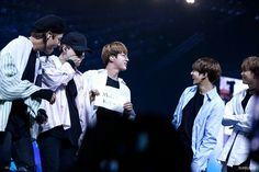 Jin made a sign that says 'I love you' in Tagalog just for ARMYs! So cute~ ❤ BTS THE WINGS TOUR~ 2017 BTS Live Trilogy Episode lll In Manila, Philippines~ (170506-07) #BTS #방탄소년단