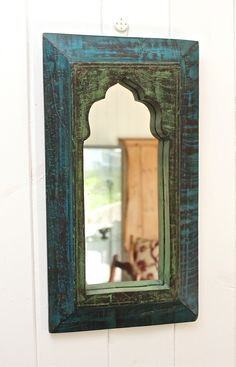 Reclaimed Indian Mirror