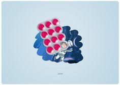 art-direction by Andreeva Musya, via Behance