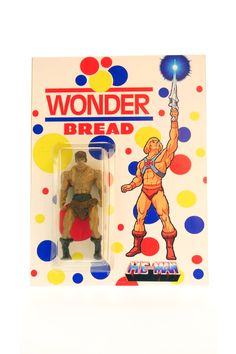Wonderbread He-Man (LE 20) by DLL Customs $30