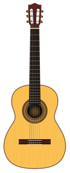 Music instruments illustration acoustic guitars ideas for 2019 Acoustic Guitar Notes, Classical Acoustic Guitar, Acoustic Guitars, Guitar Clipart, Guitar Vector, Guitar Drawing, Music Backgrounds, Art Music, Musical Instruments
