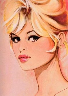 Bridget Bardot artwork