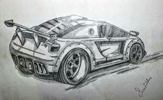 Best car sketch 2016