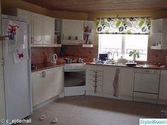 For the love of interior - Hemma hos cathrinesjovik Decor, Cabinet, Interior, Kitchen, Kitchen Island, Home Decor, Kitchen Cabinets