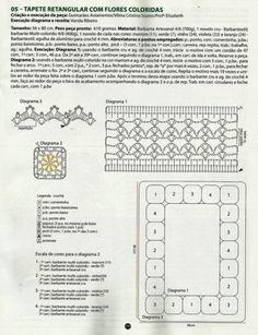 REGINA RECEITAS DE CROCHE E AFINS: TAPETES