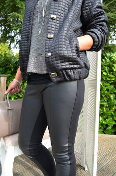 Lorena Sarbu coat Culture Jumper Forever Unique Trousers Bracelet Hult Quist Necklaces and (Pendent) Real Leather Bag Real Leather, Leather Bag, Leather Pants, Forever Unique, Hair And Beauty Salon, Beauty Boutique, Jumper, Trousers, Necklaces