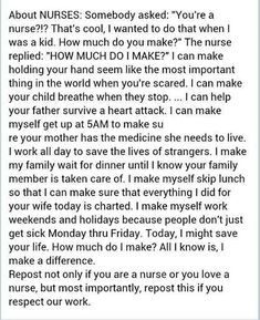 Reposting and shout-out to all the #nurses working hard to advocate for patients!