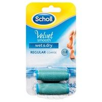 Are you looking for Velvet Smooth Wet & Dry Regular Coarse Refills 2 pack by Scholl? Scholl Velvet Smooth, Foot File, Bath Or Shower, Online Supermarket, Chemist, Wet And Dry, Free Food, Packing, Bag Packaging
