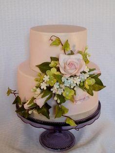 Pink Spring Cake
