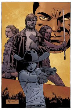 Civilization To Rebuild In 'The Walking Dead' Comic Book