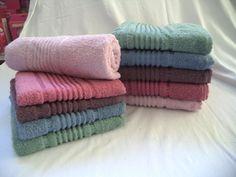 Juego de toallas 2 piezas Liso Cod 2151