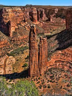 Land of the Anasazi by Lanis Rossi, via 500px; Spider Rock, Canyon de Chelly National Monument, Navajo Nation, Arizona