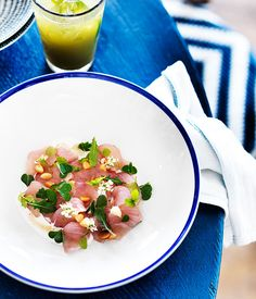 Salted fish with macadamia and native pepper, Ben Devlin, Paperdaisy