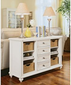 Camden Console Table by American Drew - Console Tables at Hayneedle 48 x 16. Great review. For entry.