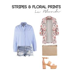 Loving this stripes look... Get this Outfit on  le-blonde.com Personal Stylist & Personal Shopper - Outfits inspiration