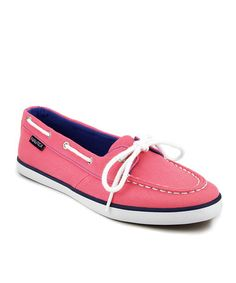 Look what I found on #zulily! Camellia Rose Boat Shoe - Women by Nautica #zulilyfinds $24.99, usually 40.00