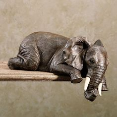 Elephant Shelf Sitter
