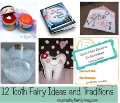 Tooth fairy ideas from Inspired by Family Magazine.