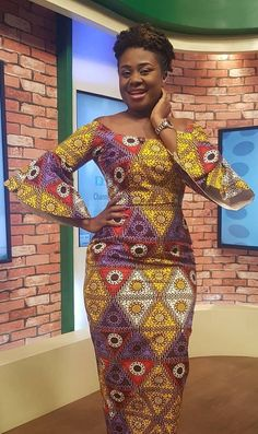 Trendy Ankara Outfits Latest African Fashion Dresses, African Dresses For Women, African Print Dresses, African Print Fashion, African Attire, African Wear, African Women, African Prints, Trendy Ankara Styles