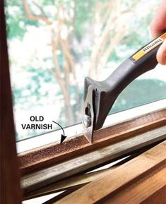 Old Windows and Doors: Revive the Finish Restore old windows and doors. This needs to happen to my house. Fall cleaning project perhaps.Restore old windows and doors. This needs to happen to my house. Fall cleaning project perhaps. Old Windows, Windows And Doors, Restoring Old Houses, Window Repair, Fall Cleaning, Home Fix, Home Repairs, Easy Home Decor, Historic Homes