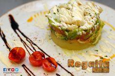 Estas de suerte. Empieza el fín de semana y en #Donostia #SanSebastian cerca del Buen Pastor en #regattaDonostia hoy puedes degustar esta magnifica Ensalada templada de bacalao guacamole patata y ali-oli tanto en el menú de mediodía (de 12:30 a 16:00) entre otras muchas opciones o en el menú de la cena (de 20:30 a 22:45h) c/Hondarribia 20 enfrente de #Mango