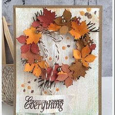 Best DIY Ideas of Handmade Thanksgiving Cards Picture 58 - Awesome Indoor & Outdoor Fall Cards, Holiday Cards, Christmas Cards, Thanksgiving Greeting Cards, Thanksgiving Holiday, Thanksgiving Recipes, White Christmas, Making Greeting Cards, Greeting Cards Handmade