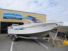 QUINTREX 530 COAST RUNNER GREAT FIRST BOAT STURDY N SAFE | Motorboats & Powerboats | Gumtree Australia Wanneroo Area - Wangara | 1125842145 Power Boats, Coast, Motor Boats, Speed Boats