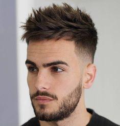 Men's Spiky Undercut Haircut #braidedhairstylesshort
