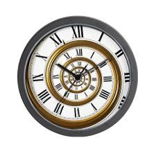 Cute Spiral Wall Clock