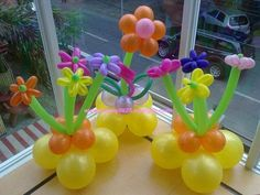 Airfilled Flower Balloon C/P