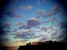 Cielo desde la ventana