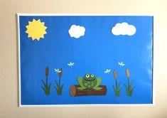Toad Bulletin Board Set, Spring Bulletin Board, Library Bulletin Board Set, Classroom Door Decoration, Classroom Bulletin Board