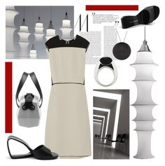 """""""Sans titre"""" by dodine ❤ liked on Polyvore featuring moda, Danese y Narciso Rodriguez"""