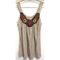 Romeo & Juliet beaded top Beautiful, beaded Romeo & Juliet tank top. Only worn once or twice, in perfect condition. No missing beads or chains. Super super soft material. Romeo & Juliet Couture Tops Tank Tops