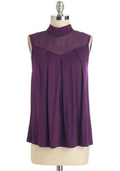 Concert Band Top in Violet. Tired of the ho-hum dress code your conductor insists on? #purple #modcloth