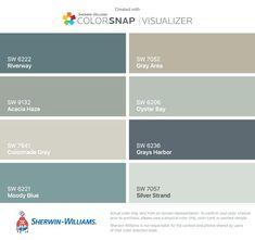 Image result for mediterranean color palette sherwin williams