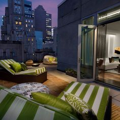W Hotel at Times Square New York-I want this as a patio if I ever live downtown