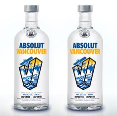 Vancouver is Absolut-ly awesome.  Douglas Fraser for Absolut.