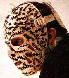 Gerry Cheever's....the best goalie mask of all time.