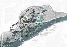 TEMUCO / Cautin island park - LCLAOFFICE Luis Callejas Landscape Urbanism Architecture